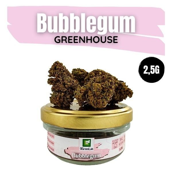 Fleurs de CBD Bubblegum Greenhouse 2,5G