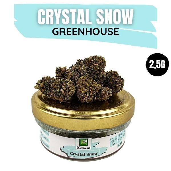 Crystal Snow CBD Greenhouse 2.5G