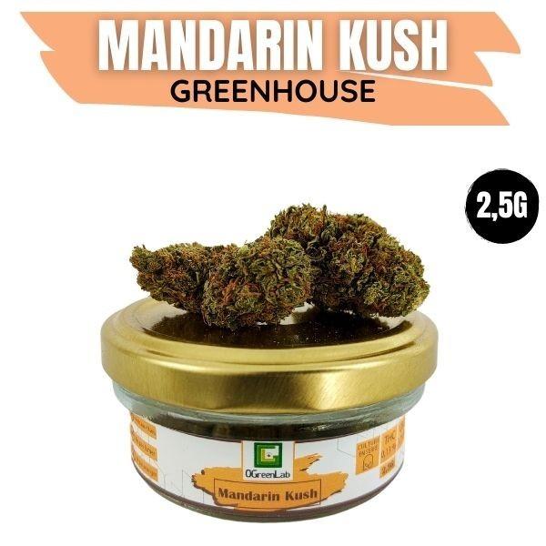 Mandarin Kush CBD Greenhouse 2.5G