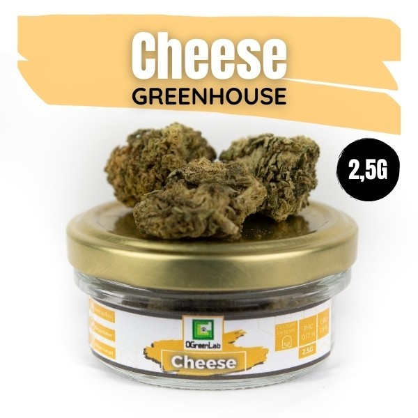 Fleurs de CBD Cheese Greenhouse 2,5G