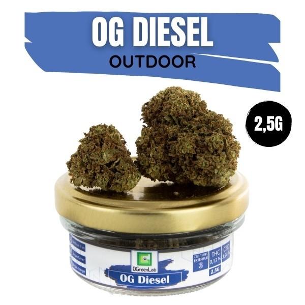 OG Diesel CBD Outdoor 2,5G